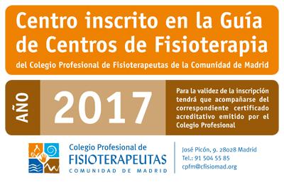 Descarga el Adhesivo Oficial de la Guía de Centros de Fisioterapia 2017