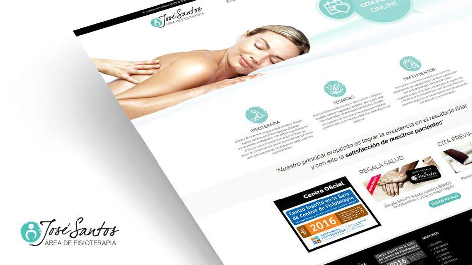 Diseños Web para la Clínica de Fisioterapia